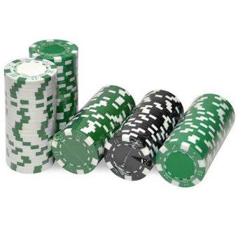 jeton poker vert