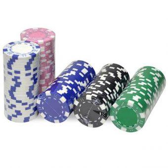 jeton poker rose