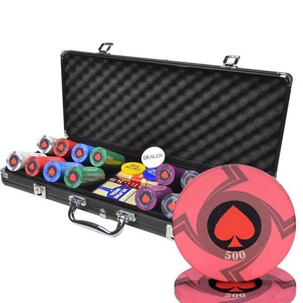 mallette poker luxe