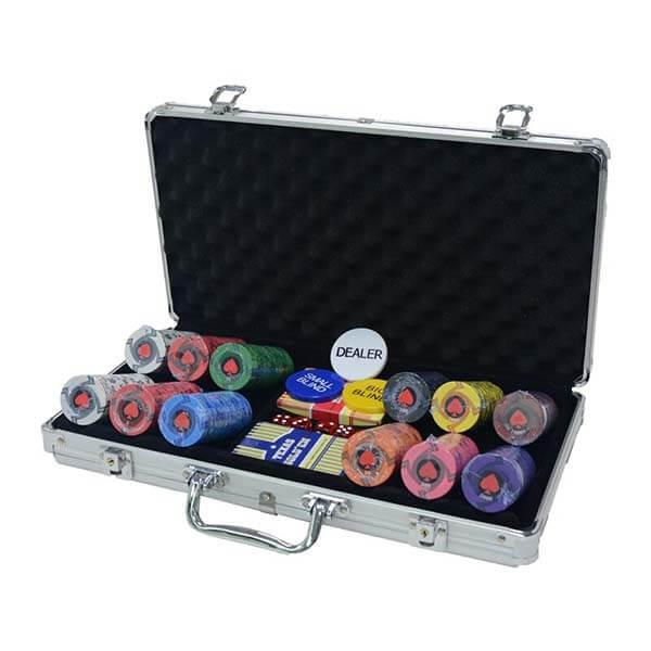 coffret poker luxe