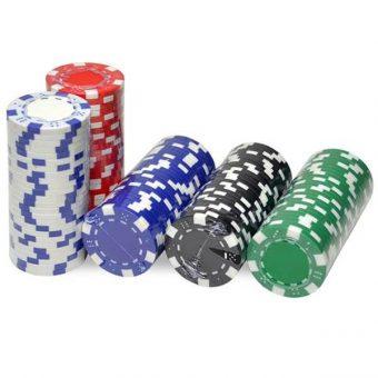 jeton poker blanc