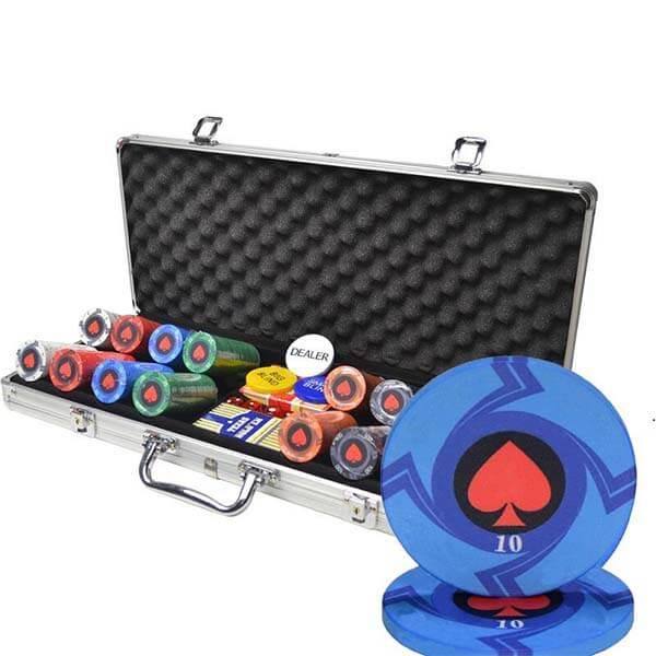 malette poker luxe