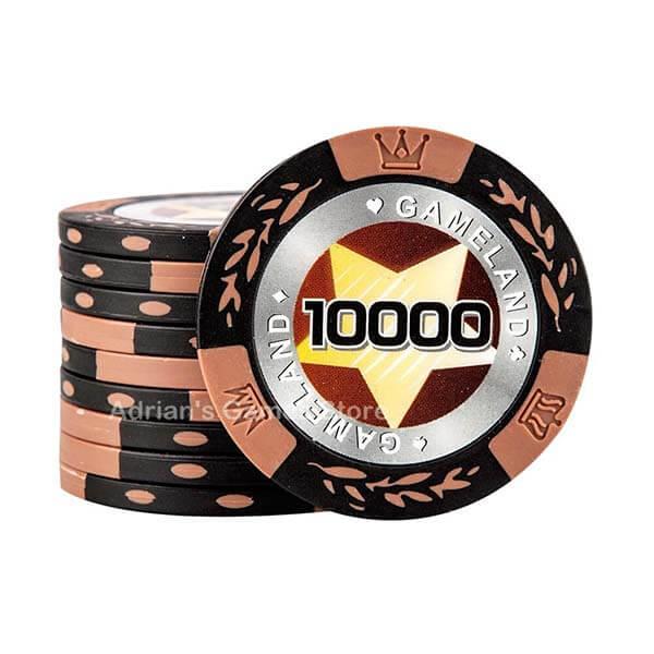 jetons poker clay