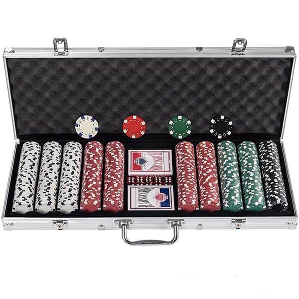 malette poker 500 jetons