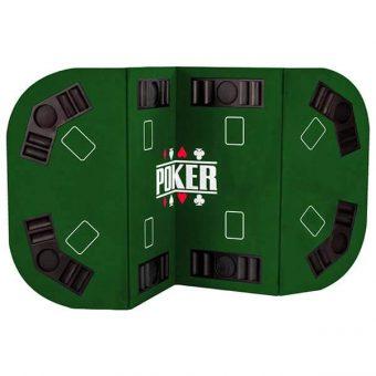 plateau de table de poker pliable