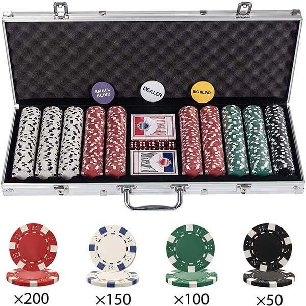 valise de poker 500 jetons